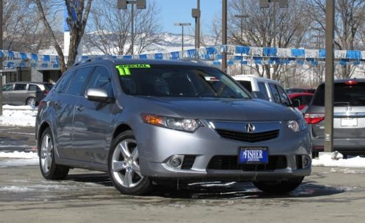 Used Car Spotlight Acura TSX Sport Wagon - Acura tsx sport wagon accessories