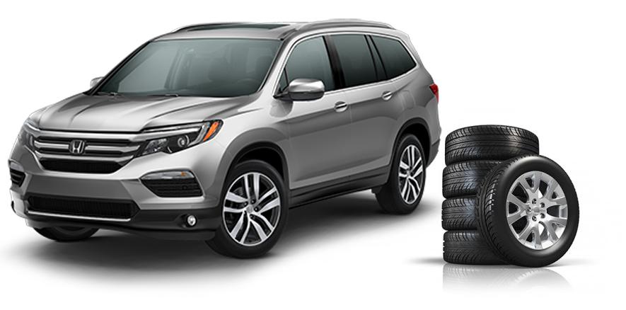 Honda tires all season and winter tire choices fisher honda for 2015 honda pilot tires