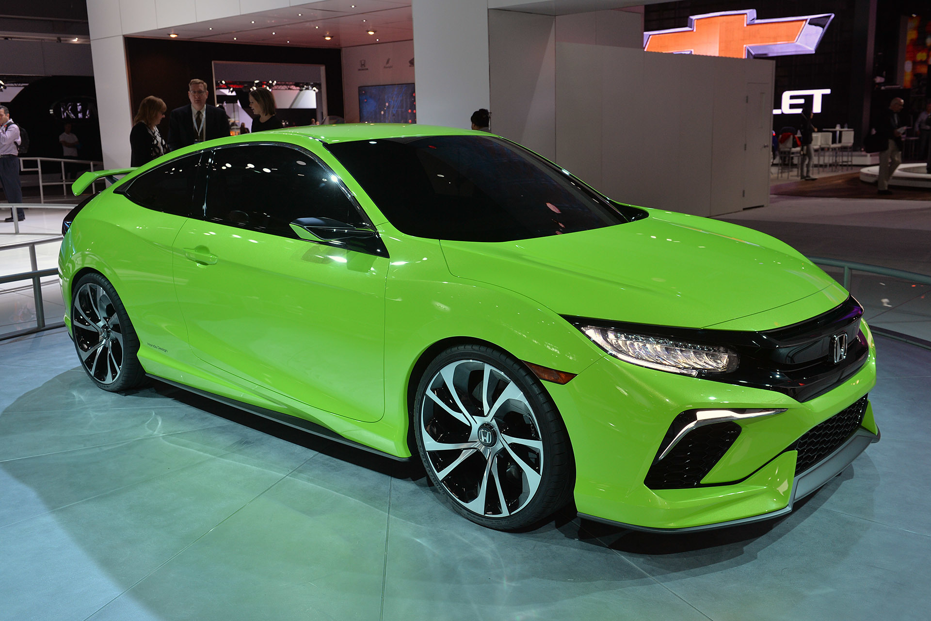 The 10th Generation Honda Civic Revealed At The New York