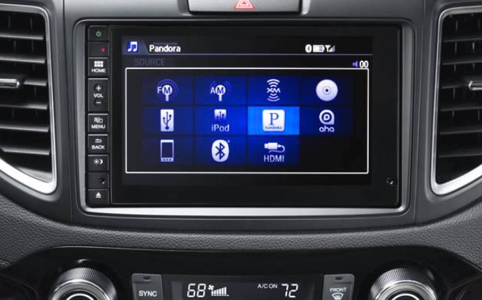 2015 Honda CR-V Interior i-MID - Fisher Honda