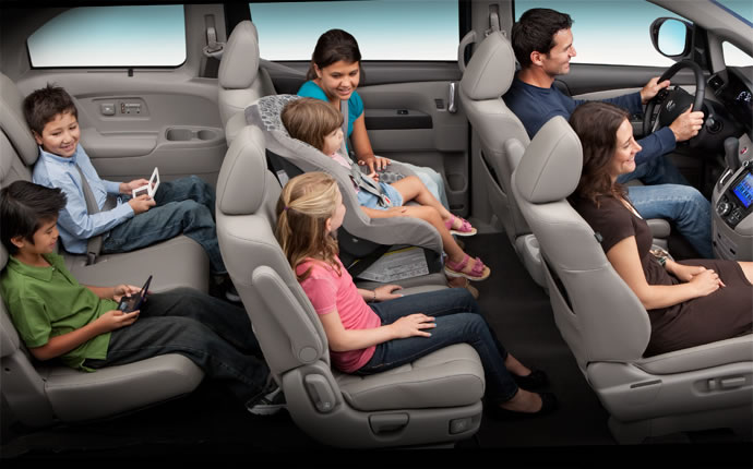 Best Minivan for Families is the 2015 Honda Odyssey - Fisher