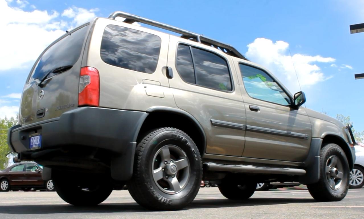 Pre Owned Vehicle Spotlight 2002 Nissan Xterra Se