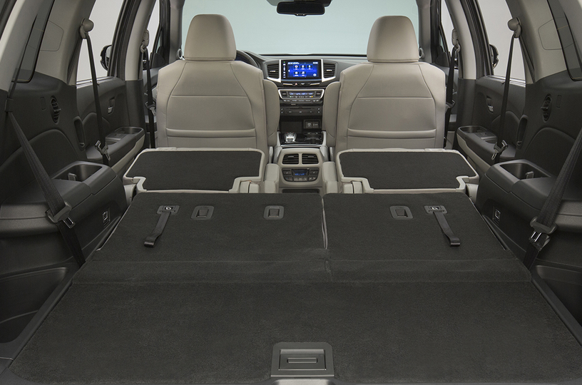 2016 Honda Pilot Cargo Space Vs Competitors Best Full Size Suvs