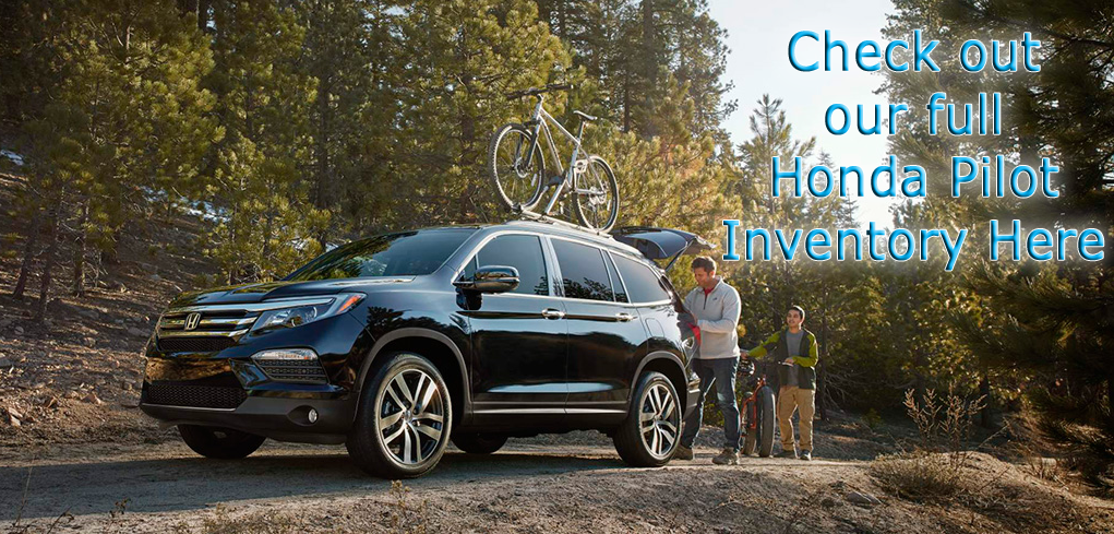 2016 Honda Pilot Inventory button