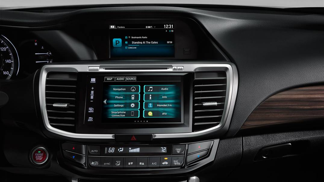 2016 Honda Accord Interior Features