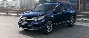 2017 Honda CR-V blue exterior model