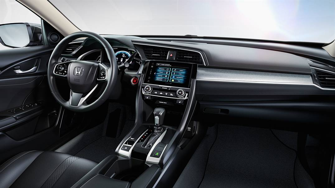 2016 Honda Civic interior features