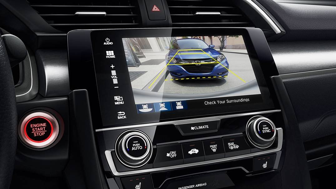 2016 Honda Civic safety features