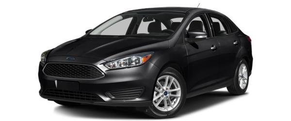 2016 Ford Focus dark exterior