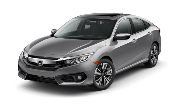2016 Honda Civic Sedan white background