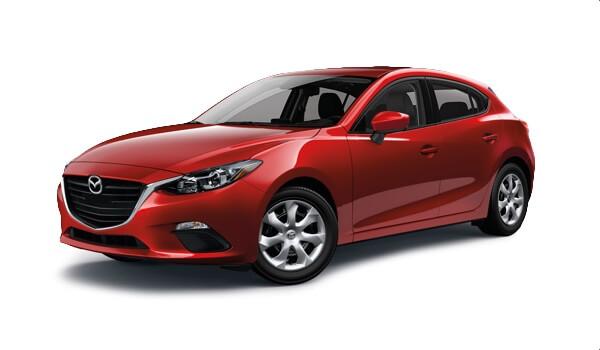 2016 Mazda3 red exterior