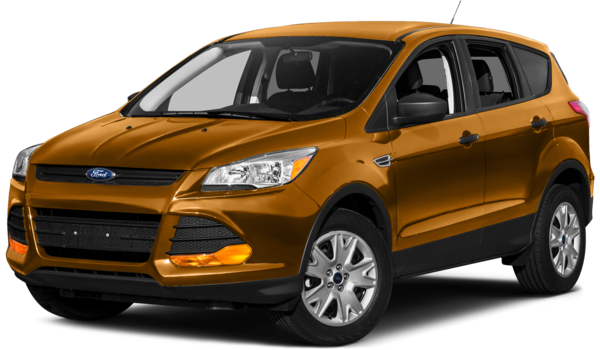 2016 Ford Escape orange exterior
