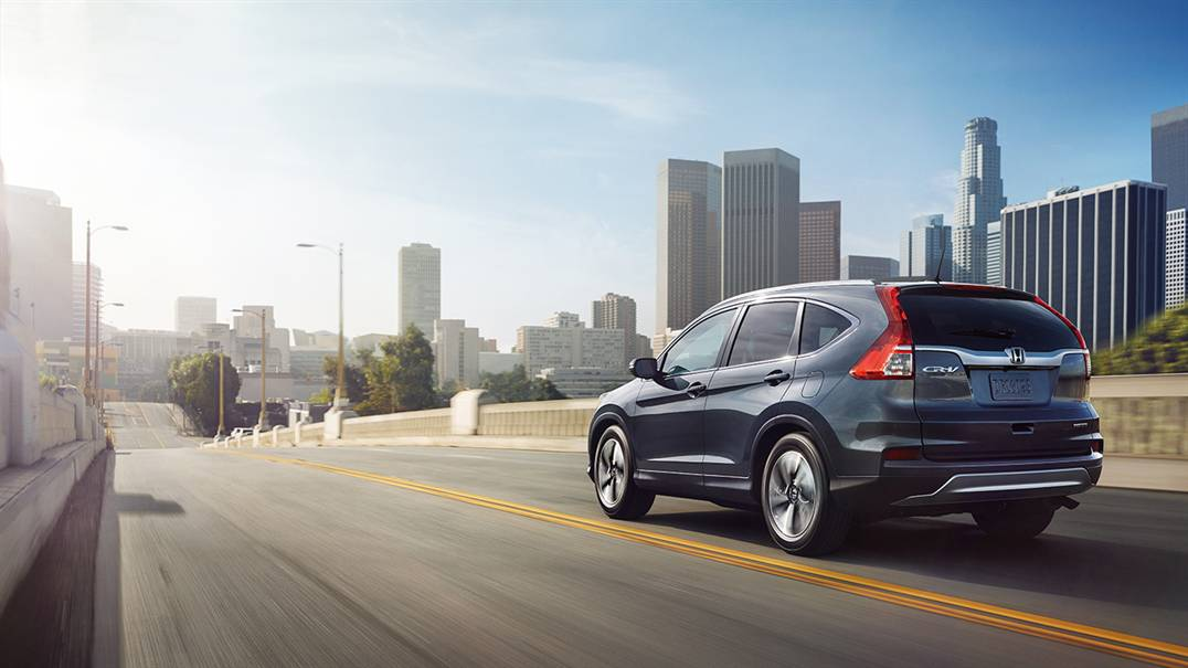 2016 Honda CR-V out on the road