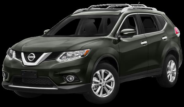 2016 Nissan Rogue green exterior