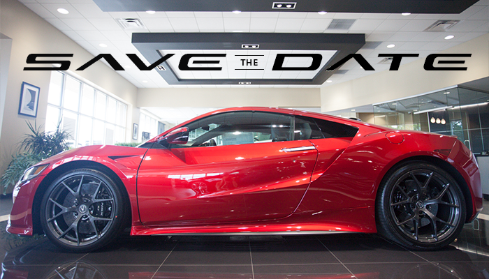 NSX save the date