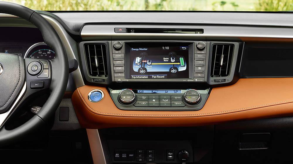 2017 Toyota RAV4 Dash