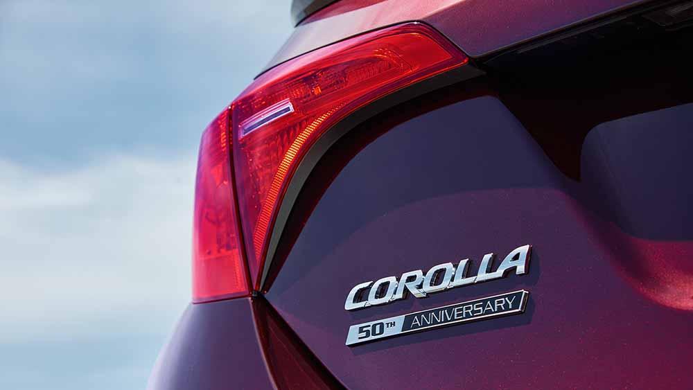 2017 Toyota Corolla Taillight