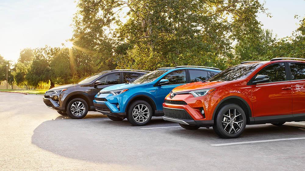 2016 Toyota Rav4 Trio