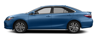 2017 Toyota Camry Blue