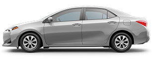 2017 Toyota Corolla Silver