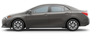 2017 Toyota Corolla Gray