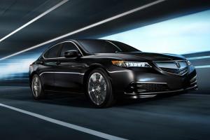 2016 Acura TLX black