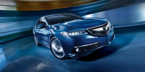 2016 Acura TLX Blue