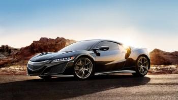 2017 Acura NSX Black