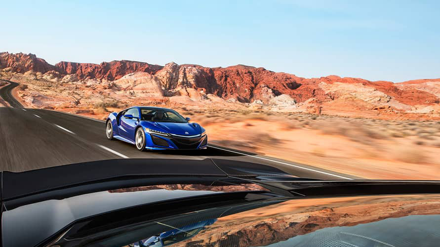 2017 Acura NSX safety