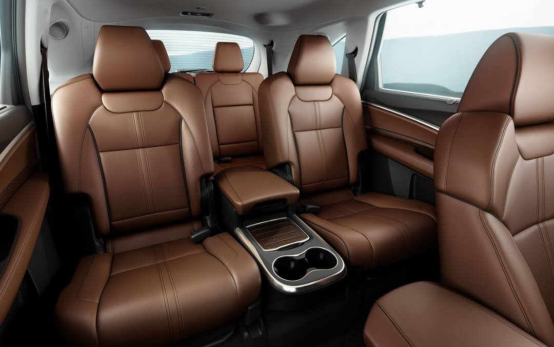 2017 Acura MDX leather seats