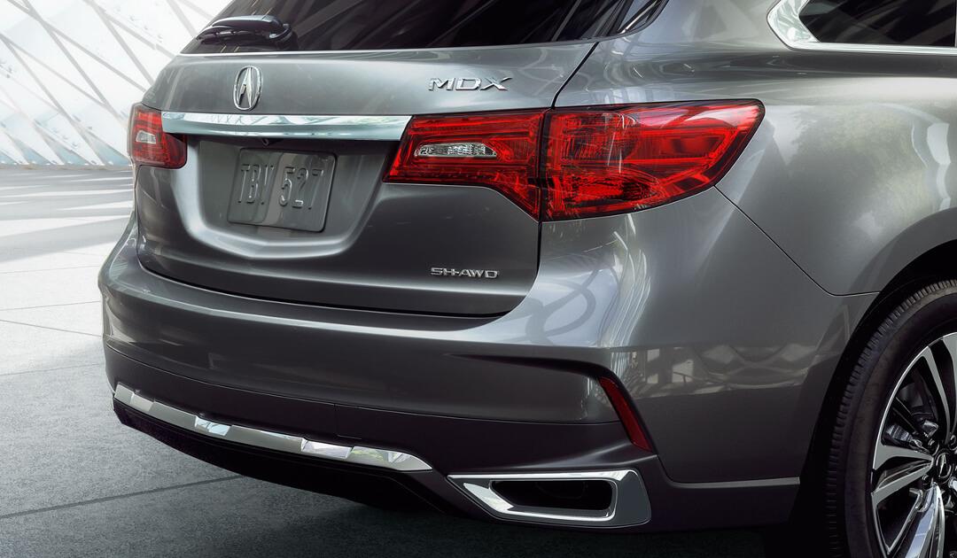 2017 Acura MDX chrome exhaust