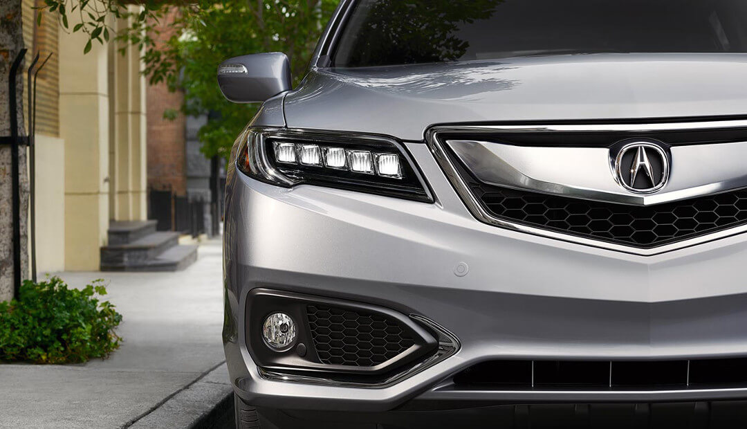 2017 Acura RDX front end