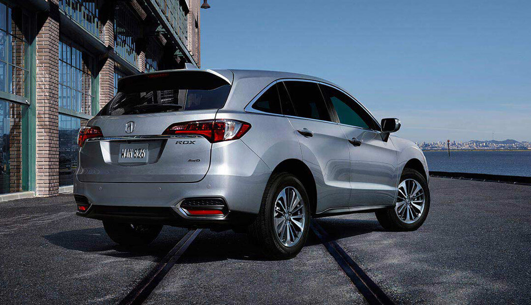 The Acura RDX Exterior Joe Rizza Acura In Orland Park - 2018 acura rdx roof rails
