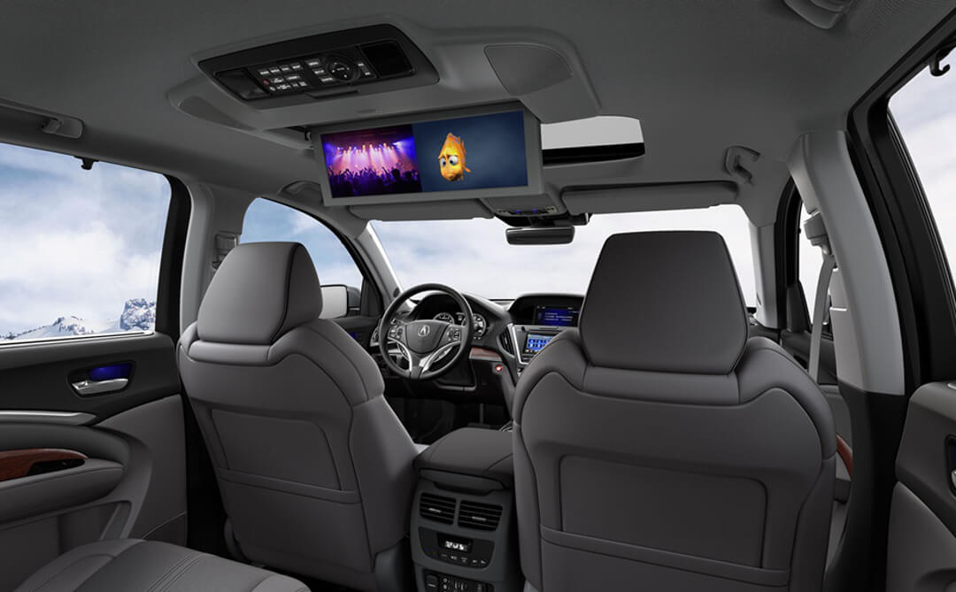 2017 Acura MDX entertainment package