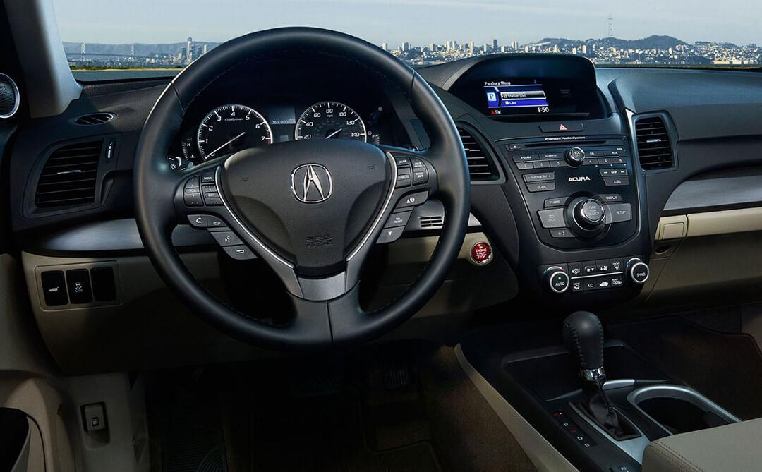 2017 Acura RDX Interior Dashboard