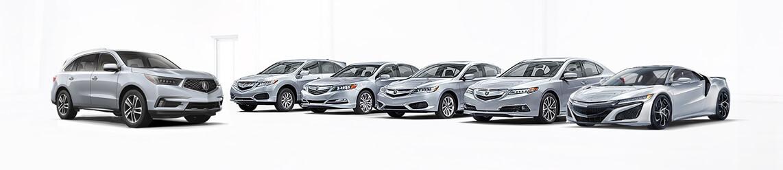 Acura lineup