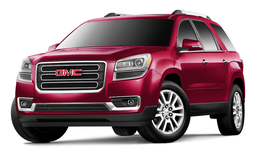 gmc acadia reviews specs pricing for gmc acadia motor trend html autos weblog. Black Bedroom Furniture Sets. Home Design Ideas