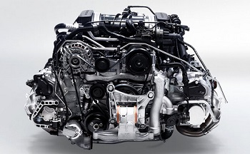2015 Porsche 911 Carrera Engine
