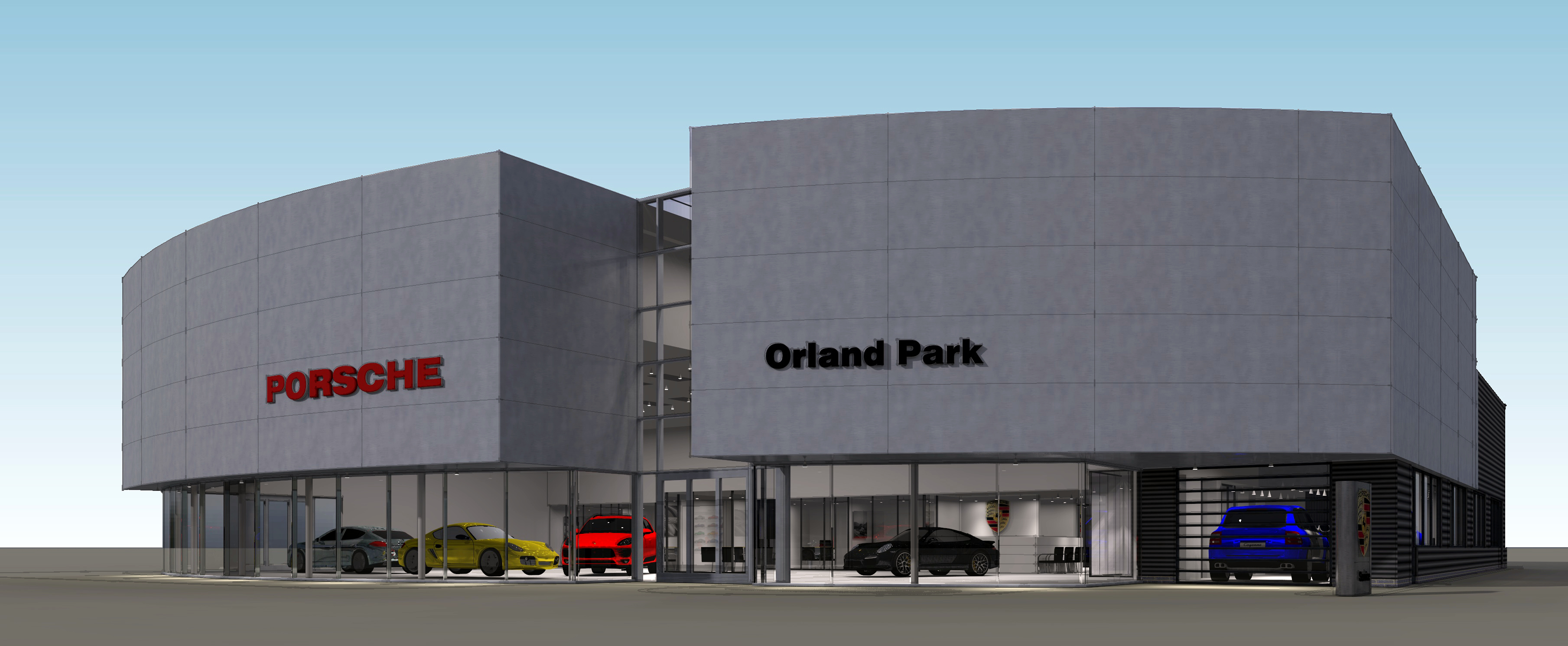 Brand New Building ing Soon for Porsche Orland Park