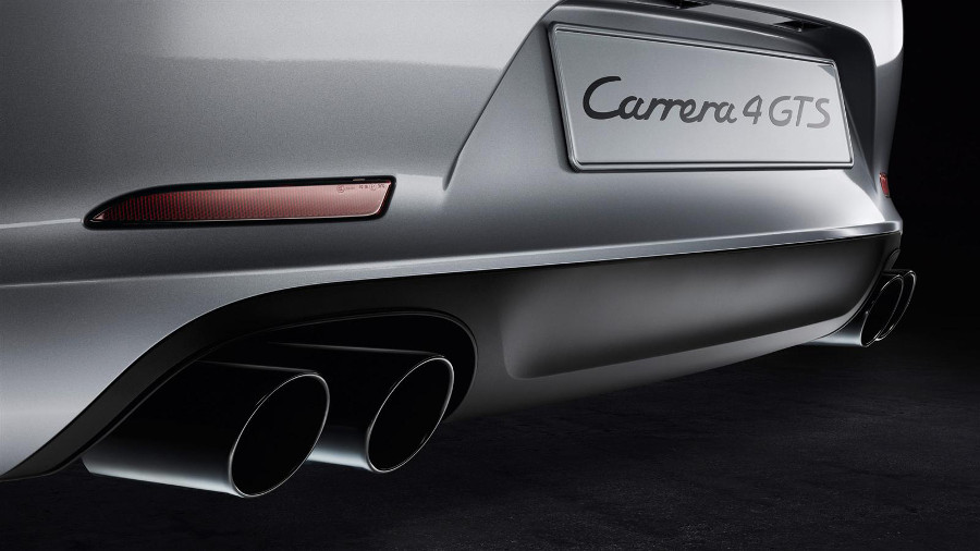 2016 911 Carrera GTS exhaust