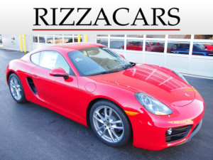 Certified Pre-Owned 2015 Porsche Cayman Base RWD Cayman 2dr Coupe