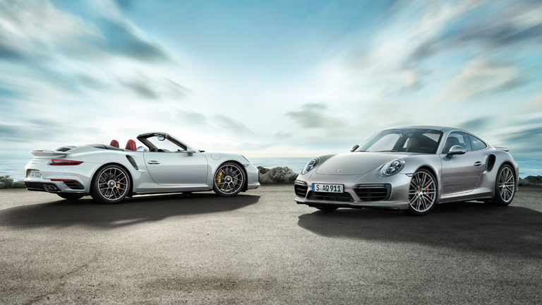 2016 Porsche 911 Turbo S test drive