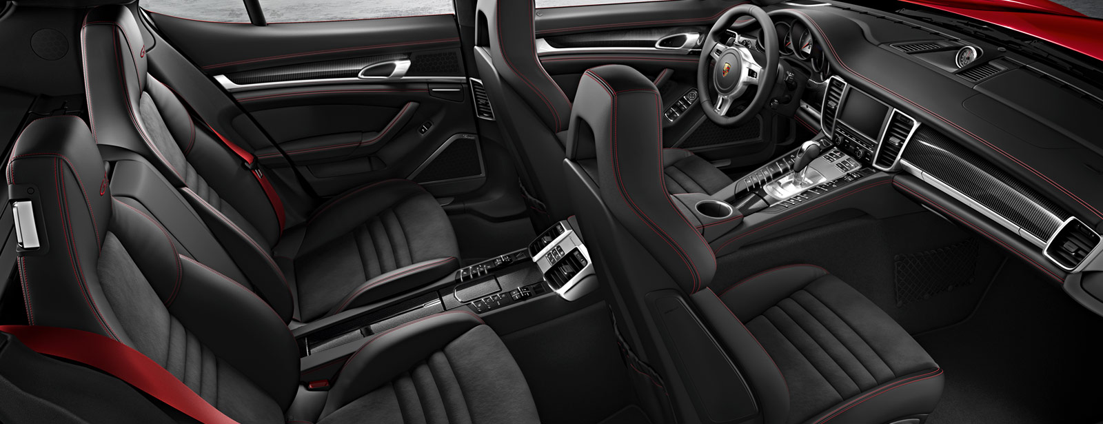 2016 Porsche Panamera GTS interior seating