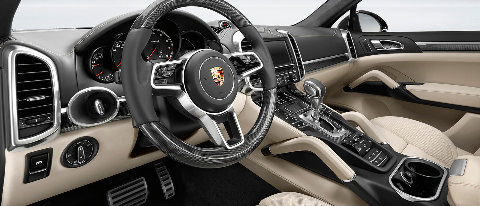 Test the power of 2017 porsche cayenne turbo s yourself Porsche cayenne interior parts