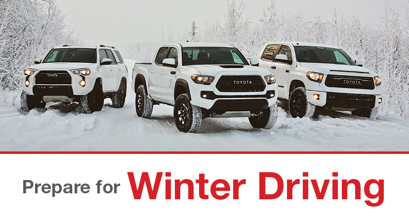 prepare for winter driving