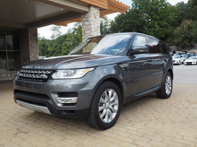 2016 LAND ROVER RANGE ROVER SPORT HSE WITH NAVIGATION & AWD
