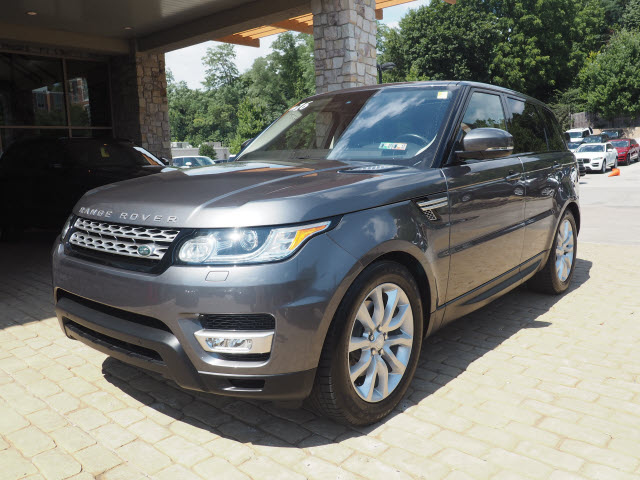 CERTIFIED PRE-OWNED 2016 LAND ROVER RANGE ROVER SPORT HSE 4WD