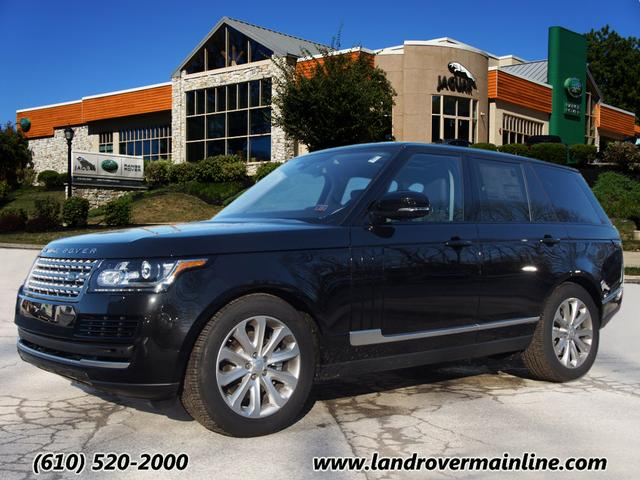 2016 LAND ROVER RANGE ROVER HSE TD6 WITH NAVIGATION & AWD