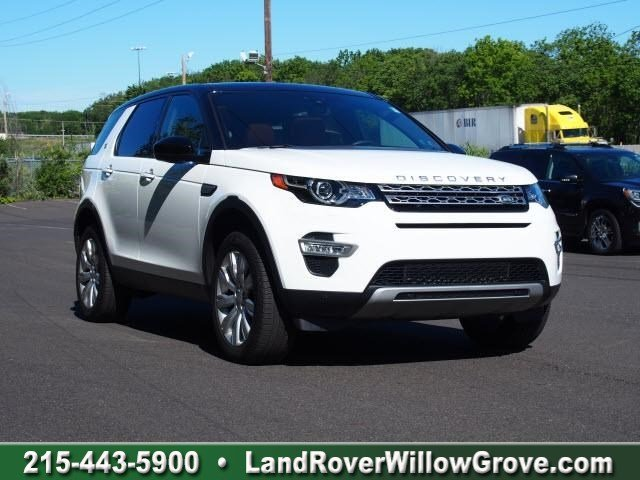 CERTIFIED PRE-OWNED 2016 LAND ROVER DISCOVERY SPORT HSE LUX 4WD