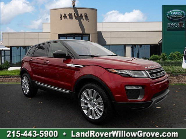 2016 LAND ROVER RANGE ROVER EVOQUE HSE WITH NAVIGATION & 4WD